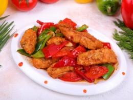 Балык сяй филе форели с овощами (ПОРЦИЯ 400 ГР)