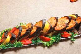 Рыба запеченная  (порция 2,5кг)